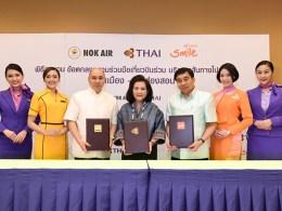 Nok Air, THAI, THAI Smile launch codeshare Bangkok-Mae Hong Son flight
