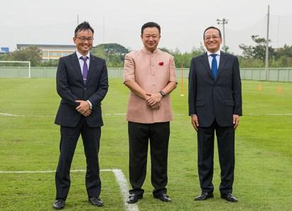 TAT Governor meets Japan's Sanfrecce Hiroshima Football Club