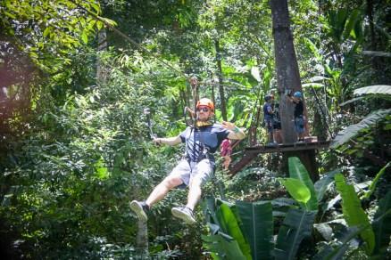 Phuket's Flying Hanuman Zipline