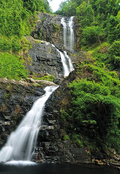 Plew Waterfall, Namtok Yong National Park, Nakhon Si Thammarat