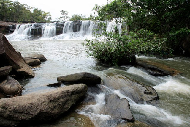 Tat Ton Waterfall, Kaeng Tana National Park, Ubon Ratchathani