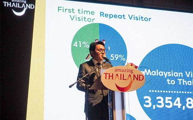 Mr. Tanes Petsuwan, TAT Deputy Governor for Marketing Communications
