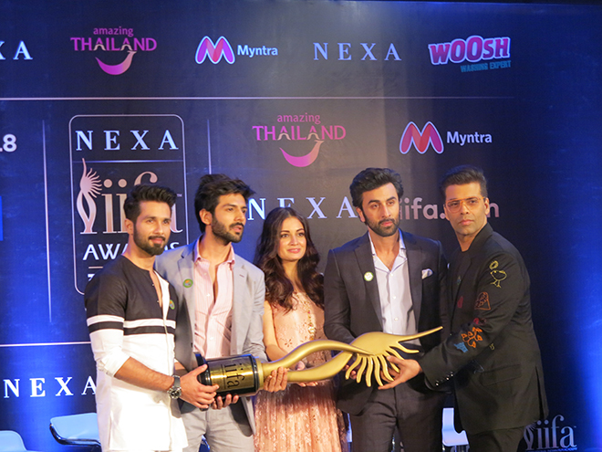 Thailand named as the host country for 2018 IIFA Weekend and