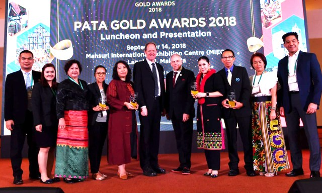 TAT-PATA Grand and three PATA Gold Awards 2018 winners