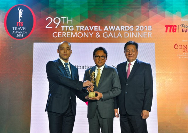 Thailand Wins TTG Asia Travel Awards 2018 Destination of the Year