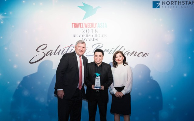 Thailand named Best Destination Asia Pacific in Travel Weekly Asia 2018 Readers Choice Awards