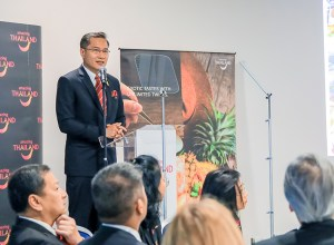 Thai Tourism Minister Weerasak Kowsurat Speech at WTM 2018
