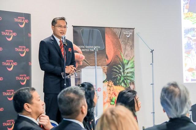 Thailand Highlight Eat Thai Visit Thai at World Travel Market 2018