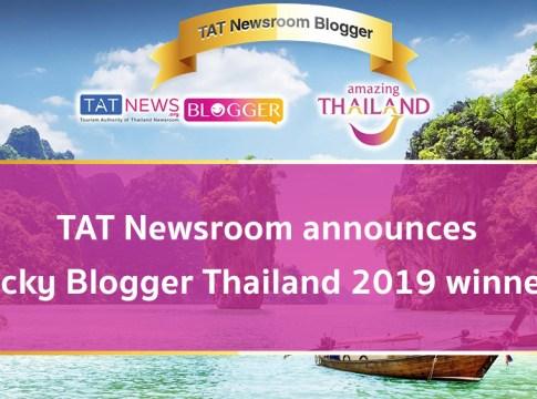 TAT Newsroom announces lucky Blogger Thailand 2019 winners