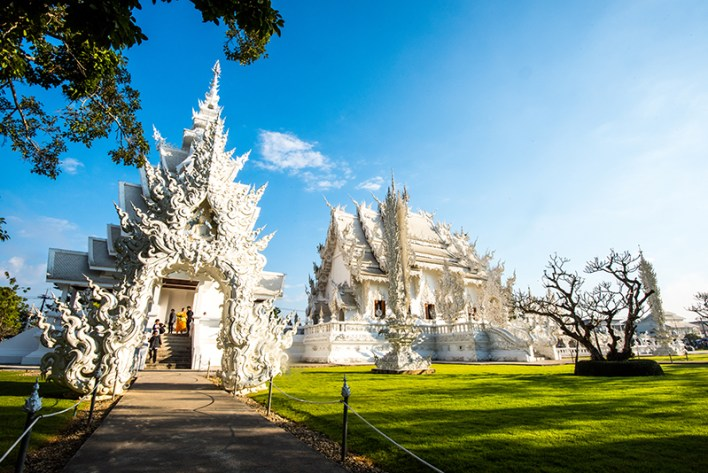 Remarkable unique temples among the 40000 throughout Thailand