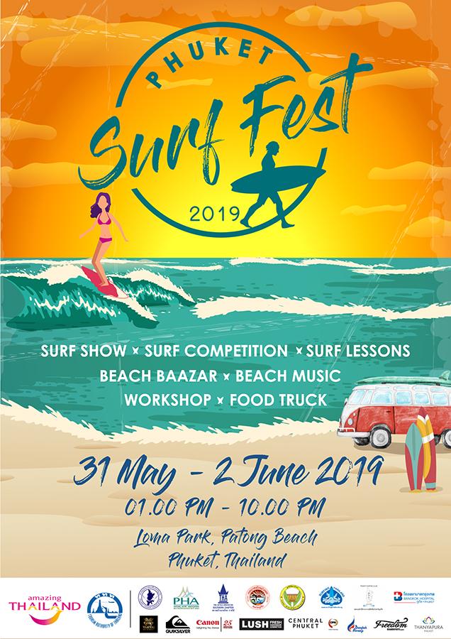 Phuket Surf Fest 2019