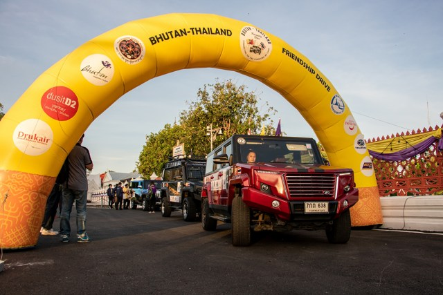First 'Bhutan-Thailand Friendship Drive' sets off on epic journey, with TAT a co-organiser