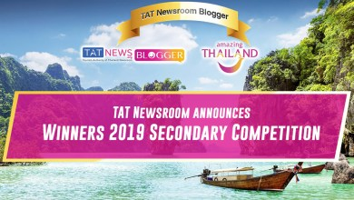 """Announcement of winners in the second TAT Newsroom """"Blogger Thailand"""" competition"""