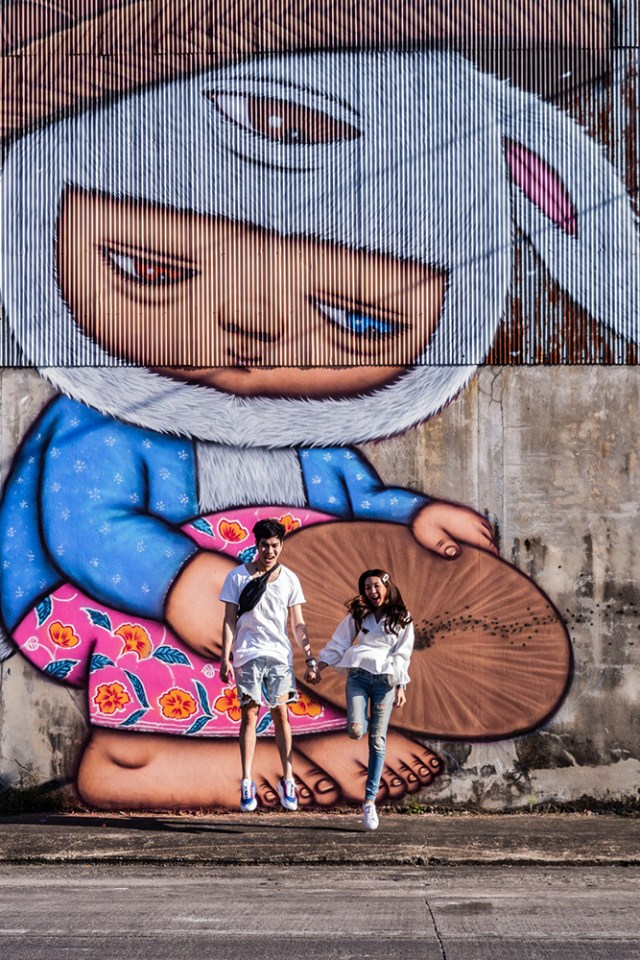 TAT commissions Alex Face to adorn Phang Nga town with creative street art