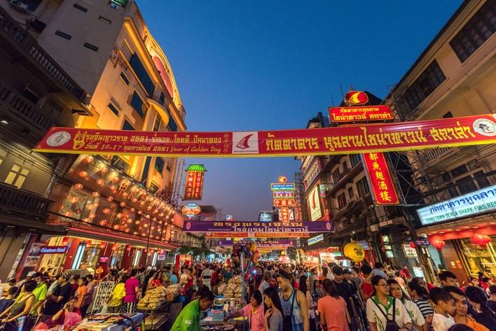 BMA turns Yaowarat, Silom, Khao San roads into 'walking streets' this December