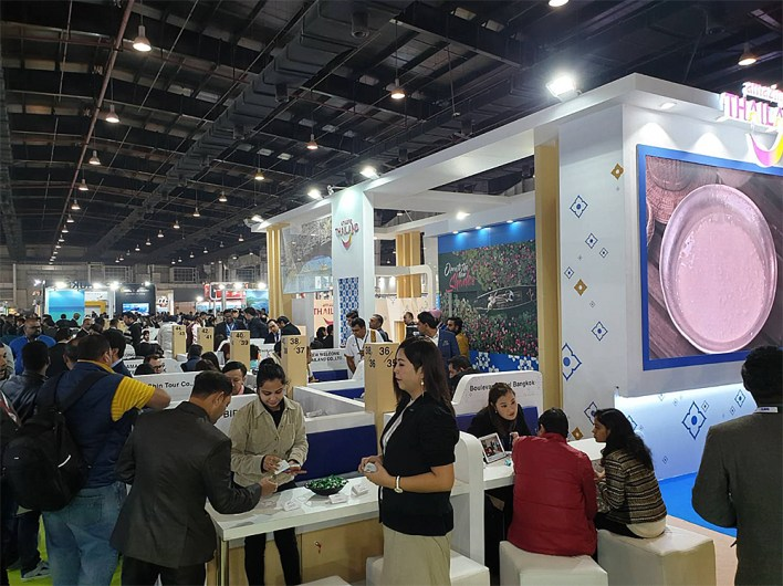 Thailand attendance at SATTE 2020 hits all time high