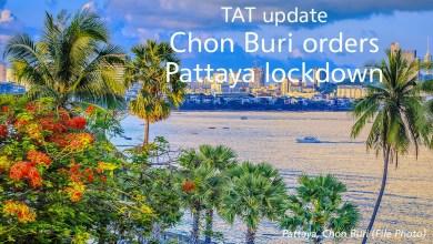 TAT update: Chon Buri orders Pattaya lockdown to combat COVID-19