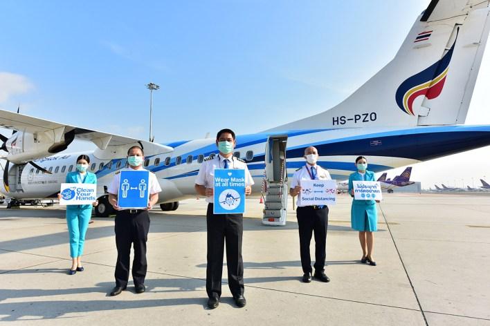 Bangkok Airways resumes domestic flights today