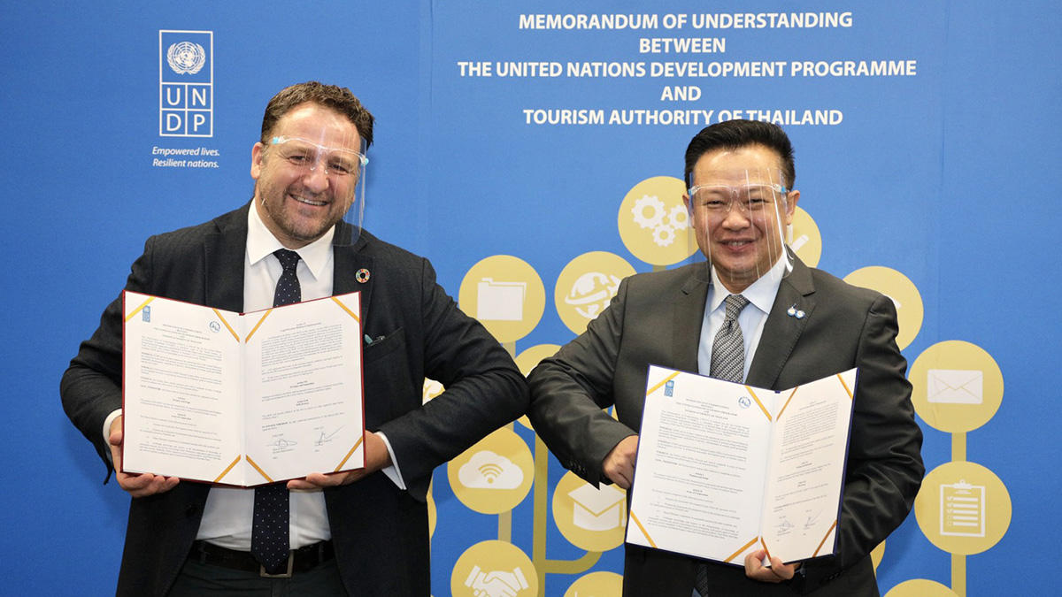 TAT- UNDP team up to strengthen sustainable tourism in Thailand