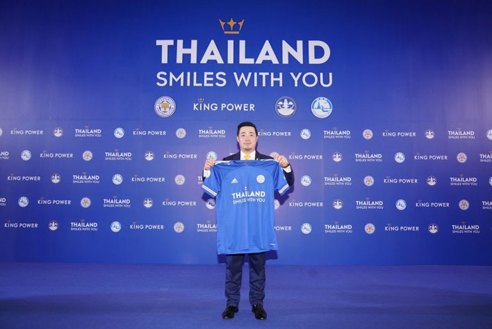 Thailand launches 'Thailand Smiles with You' campaign through Leicester City FC