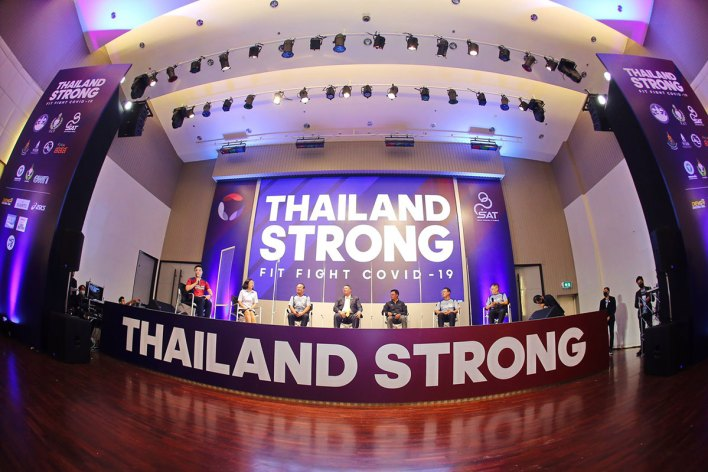 Thailand Strong Fit Fight COVID 19 2 - 'Thailand Strong Fit Fight COVID-19' project promotes fitness activities in new normal