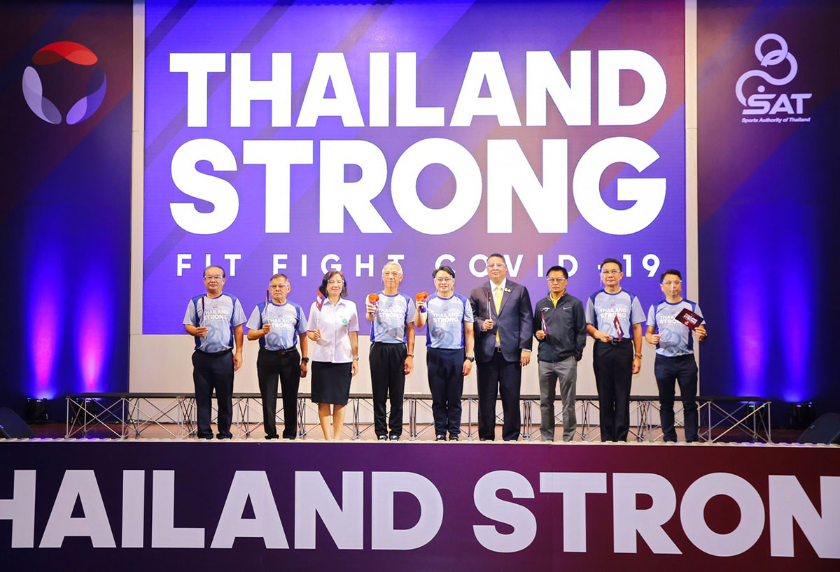 'Thailand Strong Fit Fight COVID-19' project promotes fitness activities in new normal