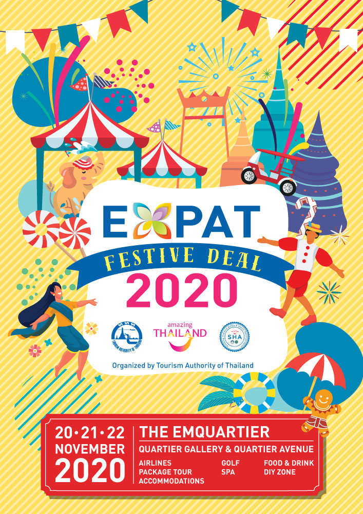 TAT organizes Expat Festive Deal 2020 to bring expats plenty of festive season fun