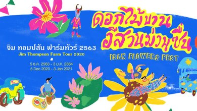 'Jim Thompson Farm Tour 2020' set to welcome visitors with 'Isan Flowers Fest' theme