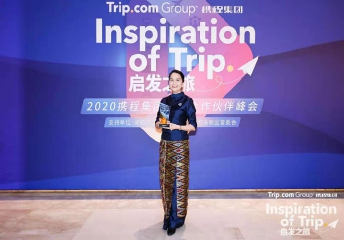 Thailand and TAT reap bounty of Chinese awards for 2020