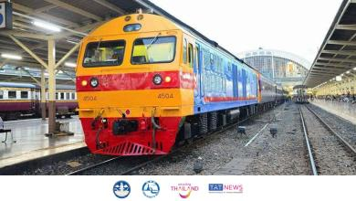 State Railway of Thailand suspends certain train services from 30 April – 31 May 2021