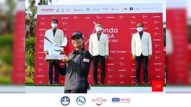 Ariya becomes the first Thai to win the Honda LPGA Thailand 2021