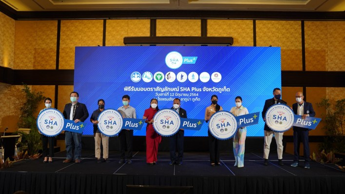 'SHA Plus' certificate awarded to 300 tourism businesses in Phuket