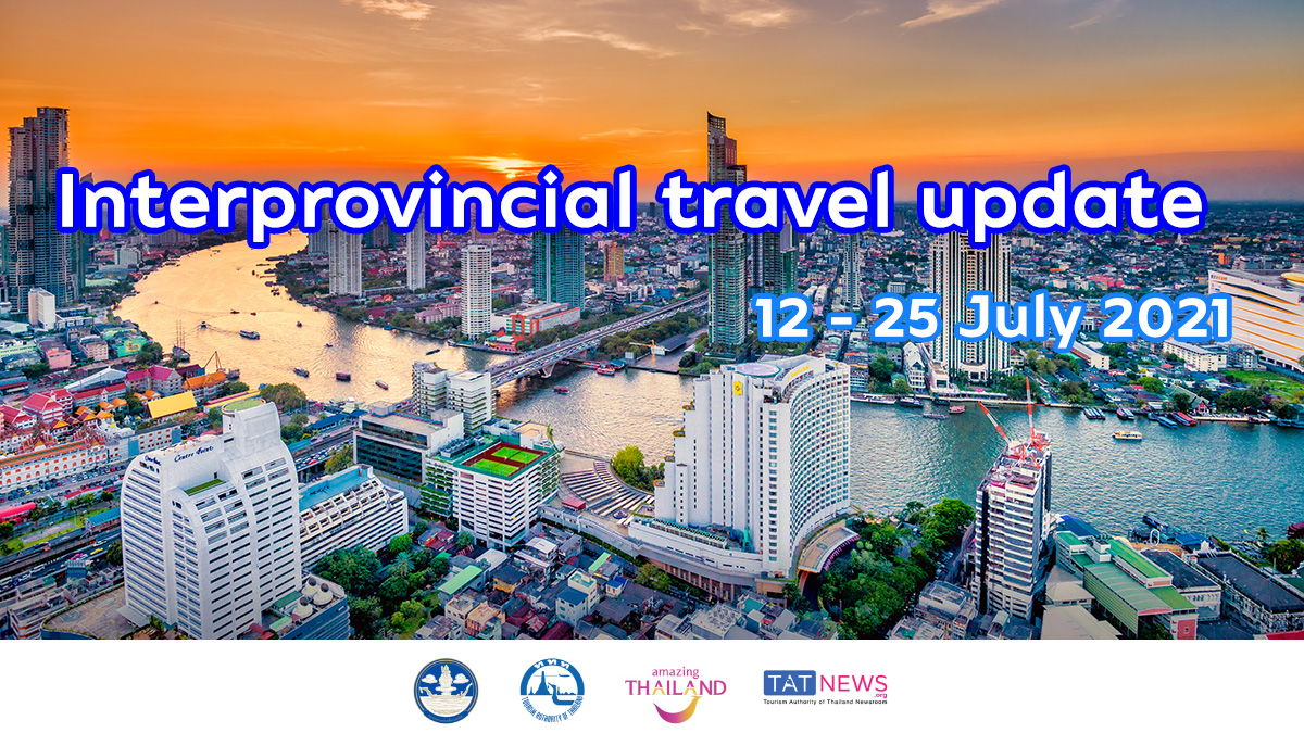 Interprovincial travel services adjust to COVID-19 restrictions during 12-25 July 2021