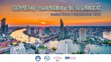Bangkok eases COVID-19 controls throughout September 2021