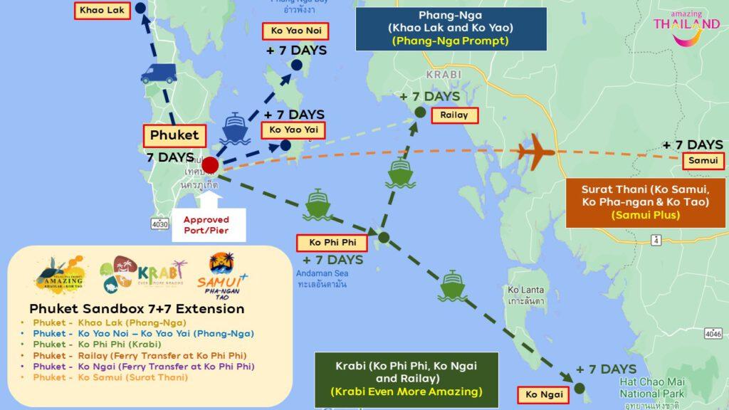 "Thailand confirms ""Phuket Sandbox 7+7 Extension"" now in effect"