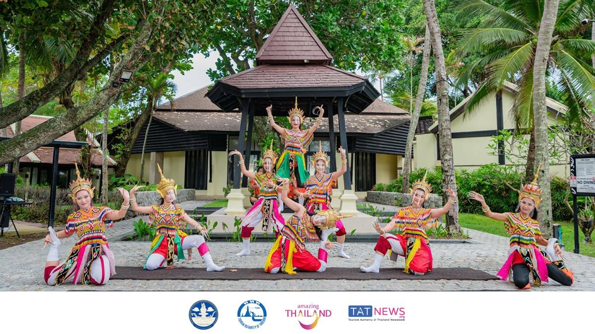 TAT holds traditional Southern dance shows for Phuket Sandbox tourists