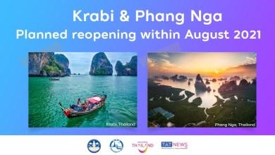 Phuket Sandbox, Samui Plus going ahead; mid-August launch planned for Krabi and Phang Nga
