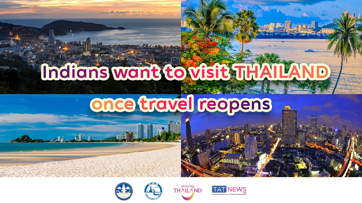 India shows promise as continued major visitor source market for Thailand
