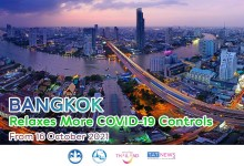 Bangkok lifts more COVID-19 restrictions from 16 October 2021