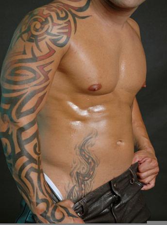 tatouages301 tatouage tribal bras droit. Black Bedroom Furniture Sets. Home Design Ideas