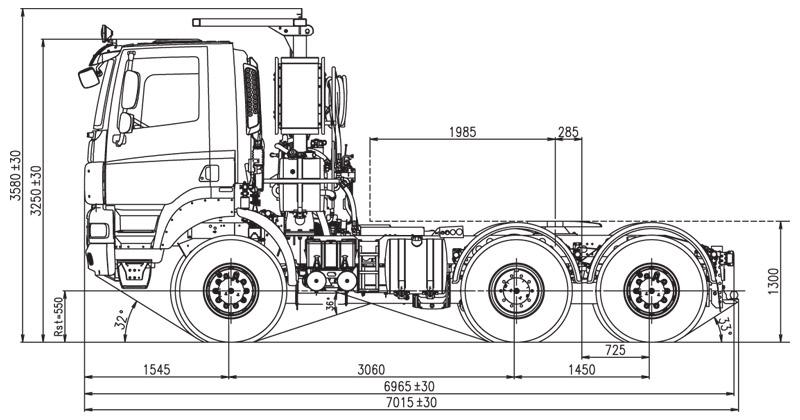6x6 AGRICULTURAL TRACTOR UNIT :: Tatratrucks.com