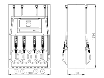 Fuel Dispensers SUNNY-XE Euro