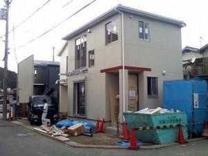 一戸建賃貸 B棟もうすぐ完成です。