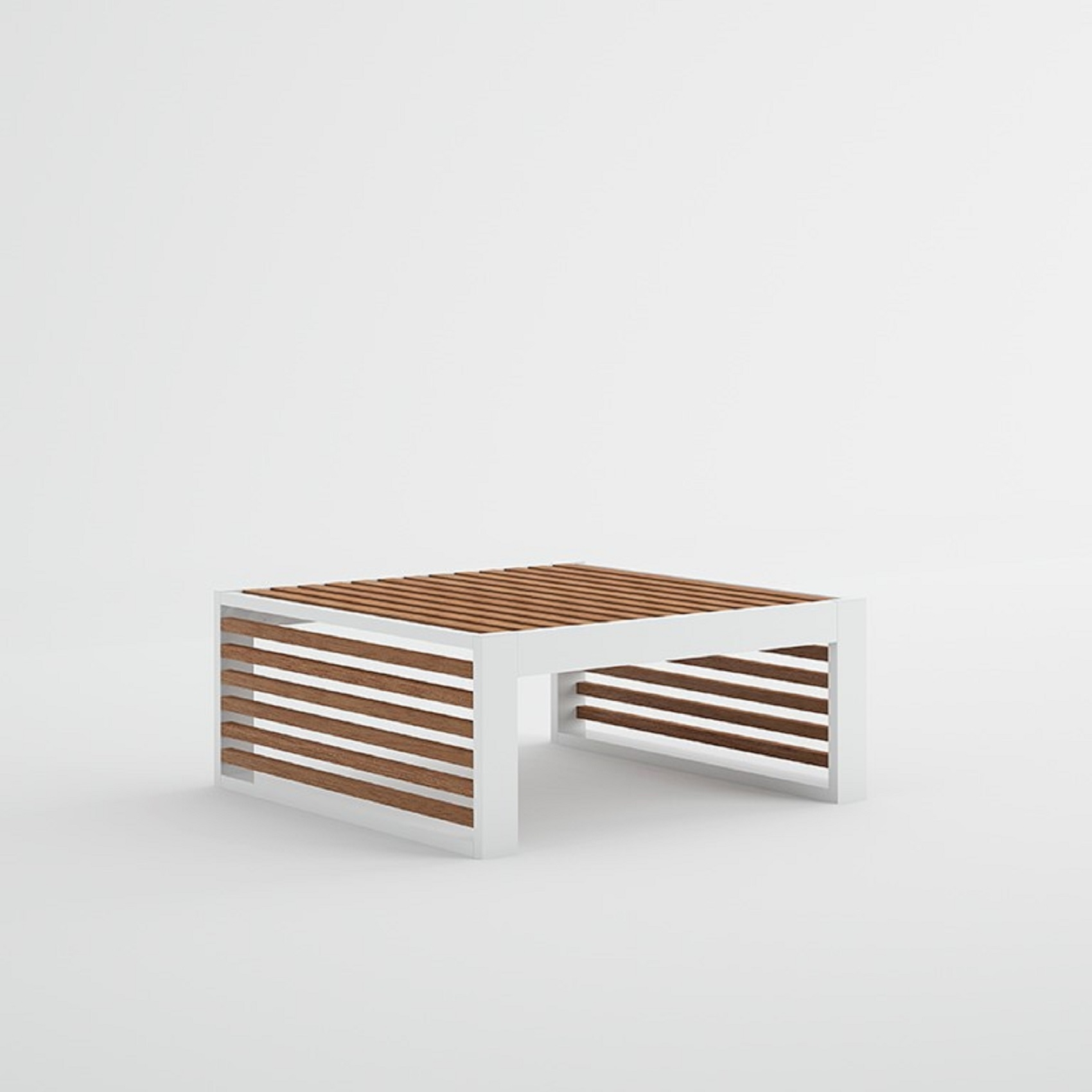 gandia blasco dna teak chaiselongue