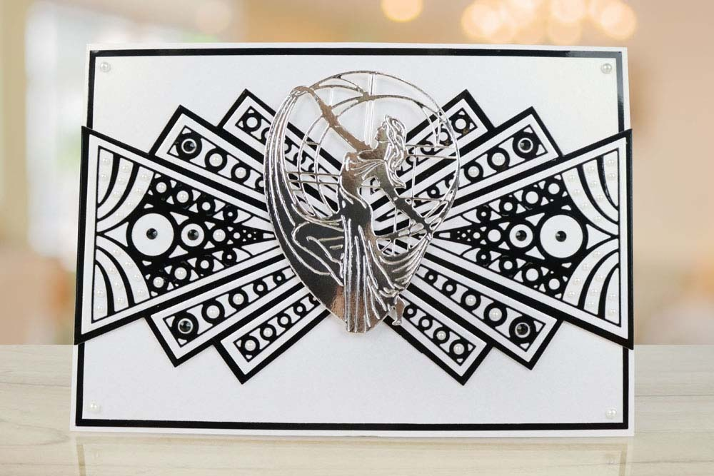 Art Deco Lamp TLD0018 Tattered Lace