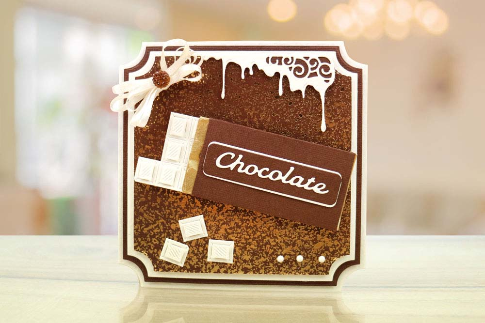 Chocolate Bar 440551 Tattered Lace