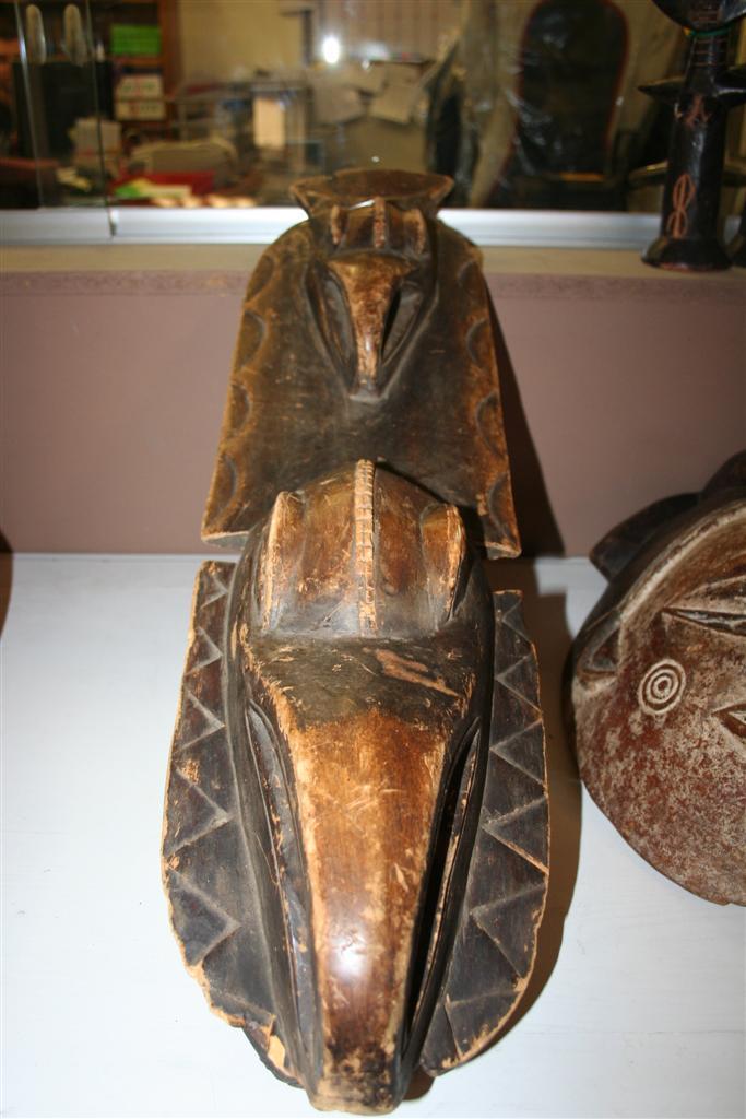 Oggettistica etnica  Maschera tradizionale africana piccola