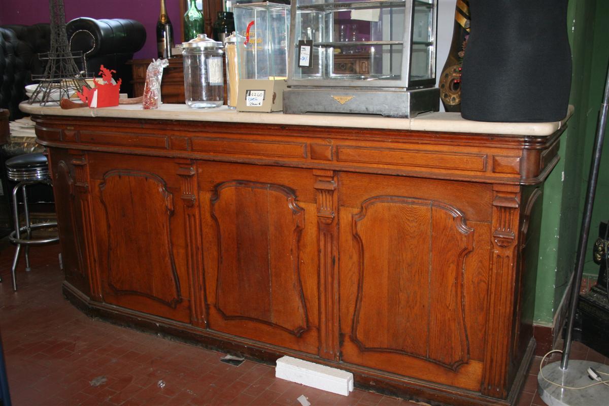 Mobili e arredo bar Banco bar francese con marmo