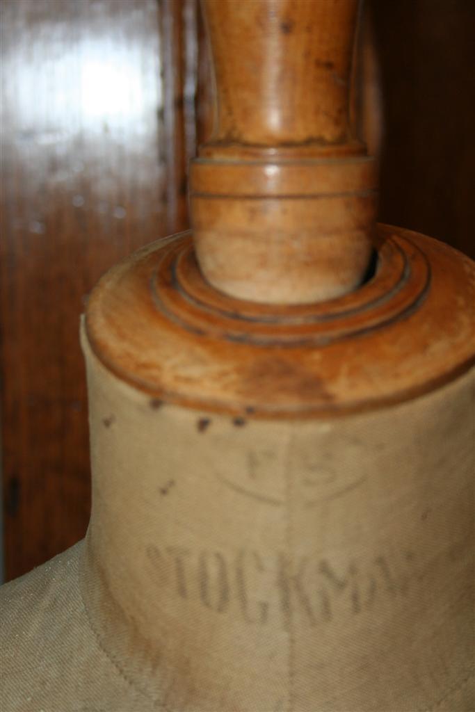Busti e manichini  Busto sartoriale Stockman con piedistallo