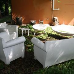 Kartell Bubble Club Sofa Gebraucht 3 Piece Microfiber Sectional Arredi Da Giardino Salotto